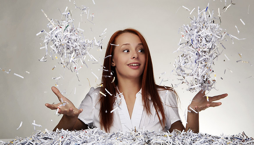 Shredded Paper Recycling and Reuse Ideas